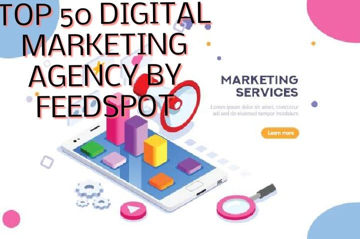 Top 50 marketing agency by feedspot