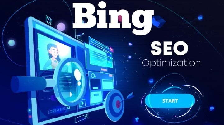 Bing ranking of website