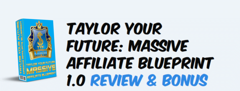 Massive affiliate blueprint 1.0 review and software