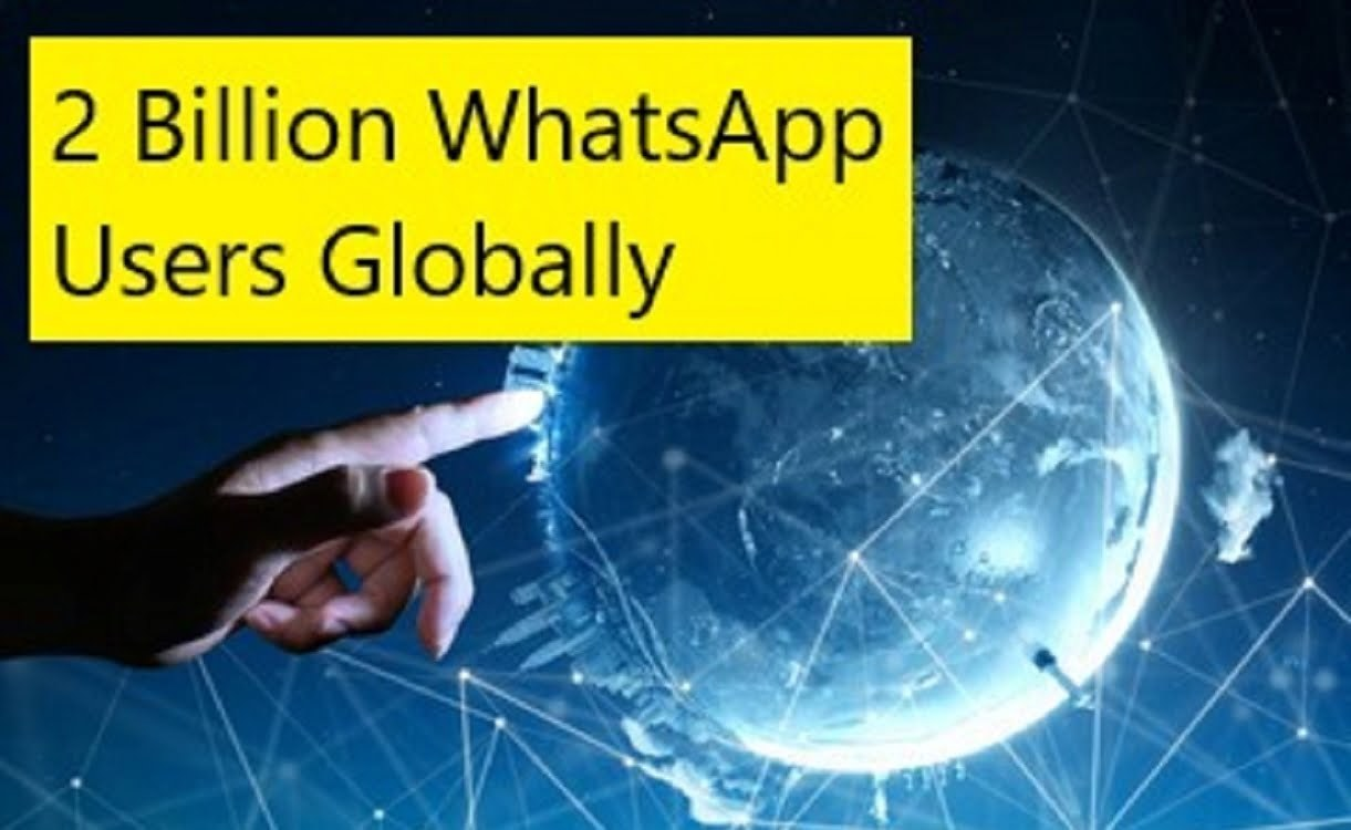 whatsapp application users globally