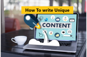 How to write unique content for brand