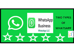 Two types of WhatsApp